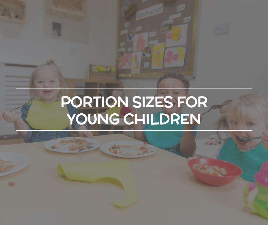 portion sizes for children