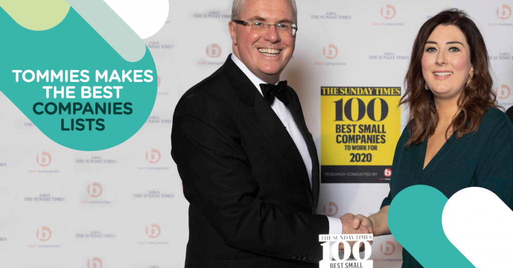 Jonathan Austin Danielle Butler Best Companies Sunday Times